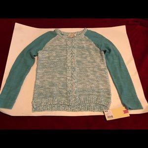 Girls Sweater NWT Large 10/12